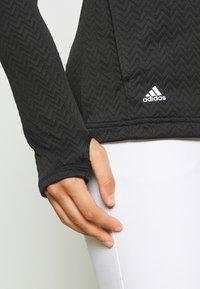 adidas Golf - Sportovní bunda - black - 3