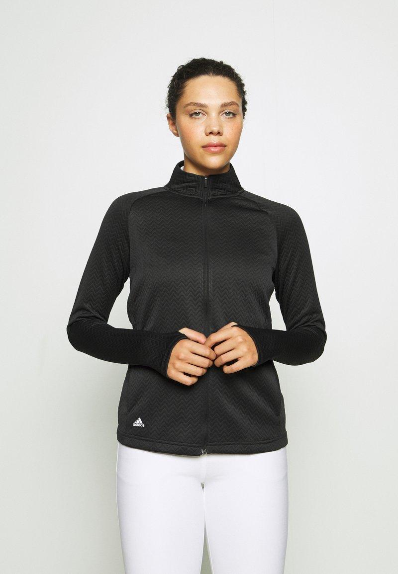 adidas Golf - Sportovní bunda - black