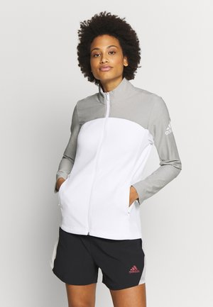 GOTO  - Treningsjakke - white/solid grey