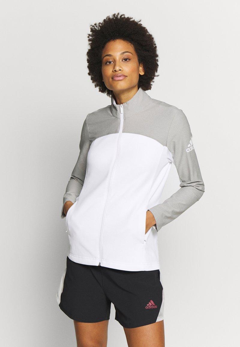 adidas Golf - GOTO  - Trainingsjacke - white/solid grey