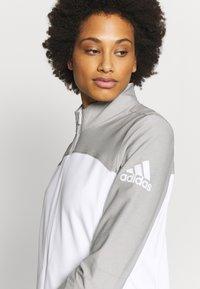 adidas Golf - GOTO  - Trainingsjacke - white/solid grey - 5