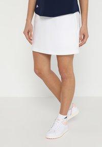 adidas Golf - ULTIMATE ADISTAR SKORT - Sports skirt - white - 0