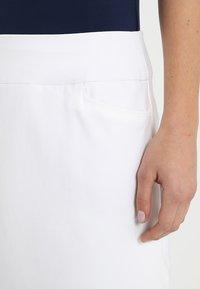 adidas Golf - ULTIMATE ADISTAR SKORT - Sports skirt - white - 3