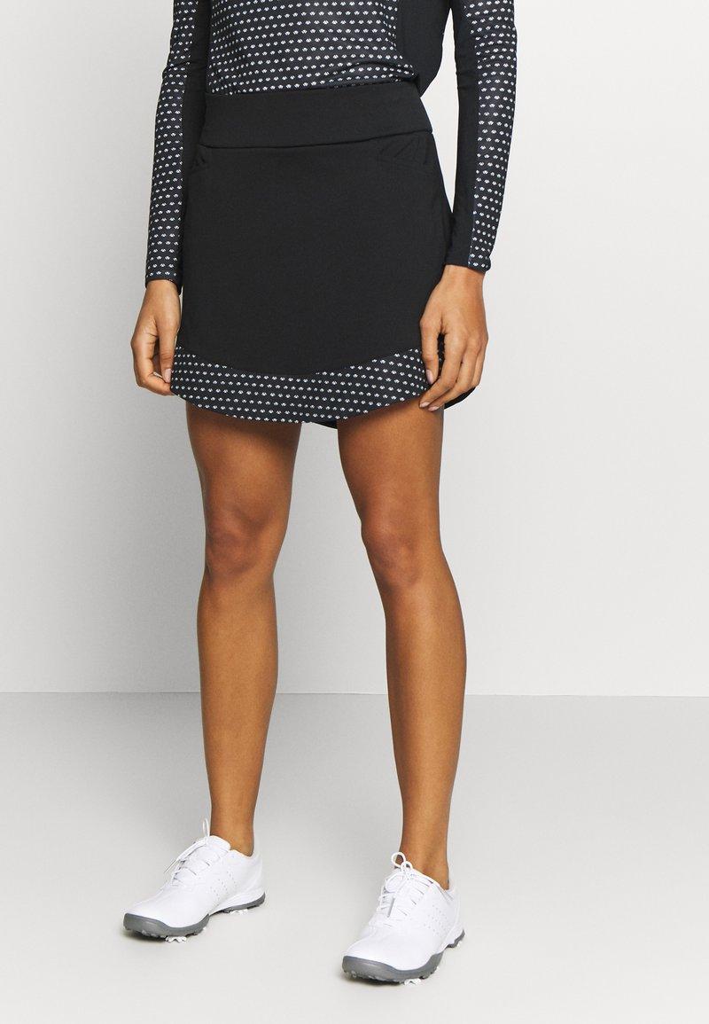 adidas Golf - SKORT - Sportovní sukně - black