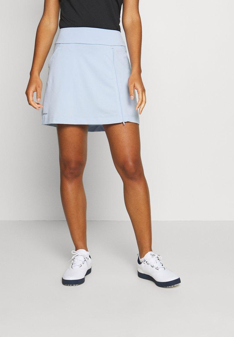 adidas Golf - PRIMEBLUE SKIRT - Sportovní sukně - easy blue