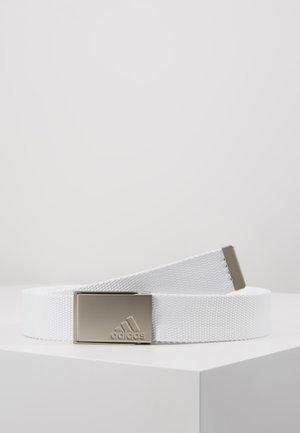 BELT - Pasek - white