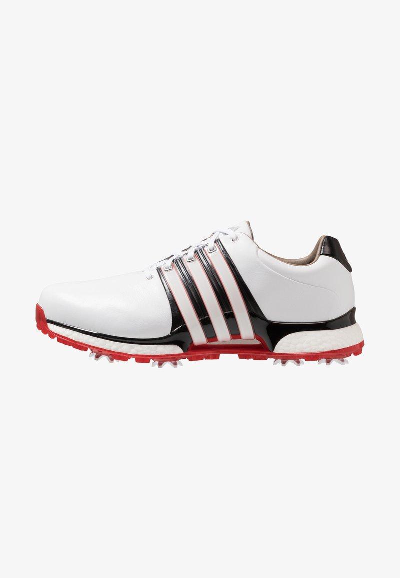 adidas Golf - TOUR360 XT  - Golfsko - footwear white/core black/scarlet