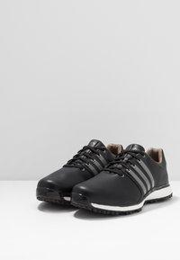 adidas Golf - TOUR360 XT-SL - Obuwie do golfa - core black/iron metallic/footwear white - 2