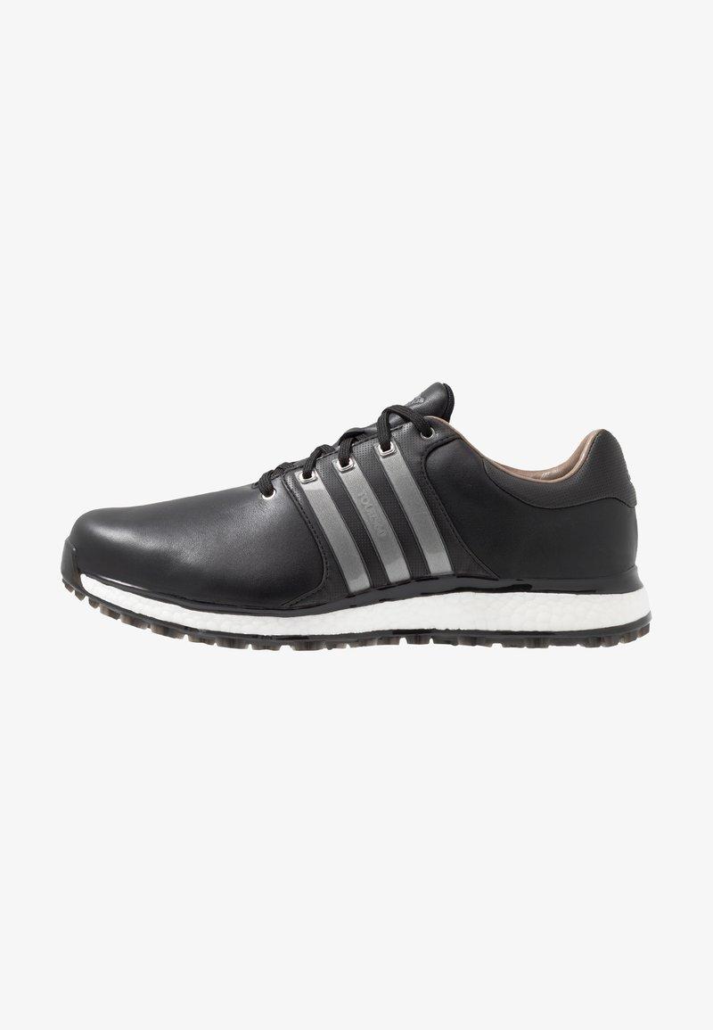 adidas Golf - TOUR360 XT-SL - Obuwie do golfa - core black/iron metallic/footwear white