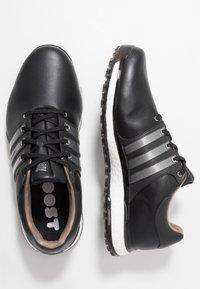 adidas Golf - TOUR360 XT-SL - Obuwie do golfa - core black/iron metallic/footwear white - 1