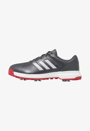 CP TRAXION - Zapatos de golf - grey six/silver metallic/scarlet