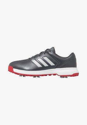 CP TRAXION - Golfschoenen - grey six/silver metallic/scarlet