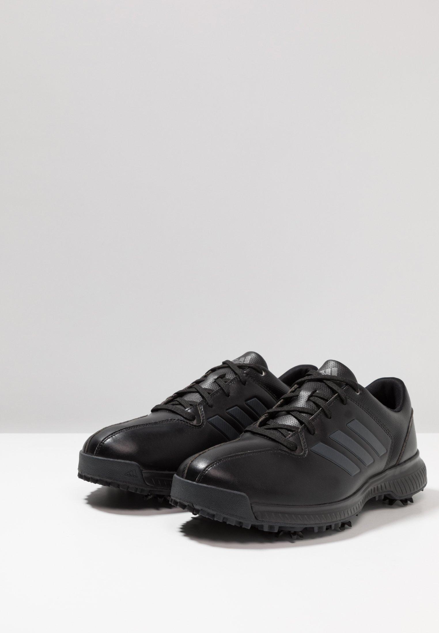 Adidas Golf Cp Traxion - Golfskor Core Black/carbon/iron Metallic
