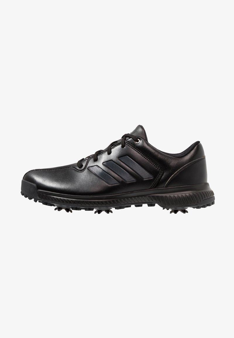 adidas Golf - CP TRAXION - Chaussures de golf - core black/carbon/iron metallic