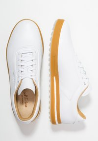 adidas Golf - ADIPURE SP - Golfkengät - footwear white/black blue metallic - 1