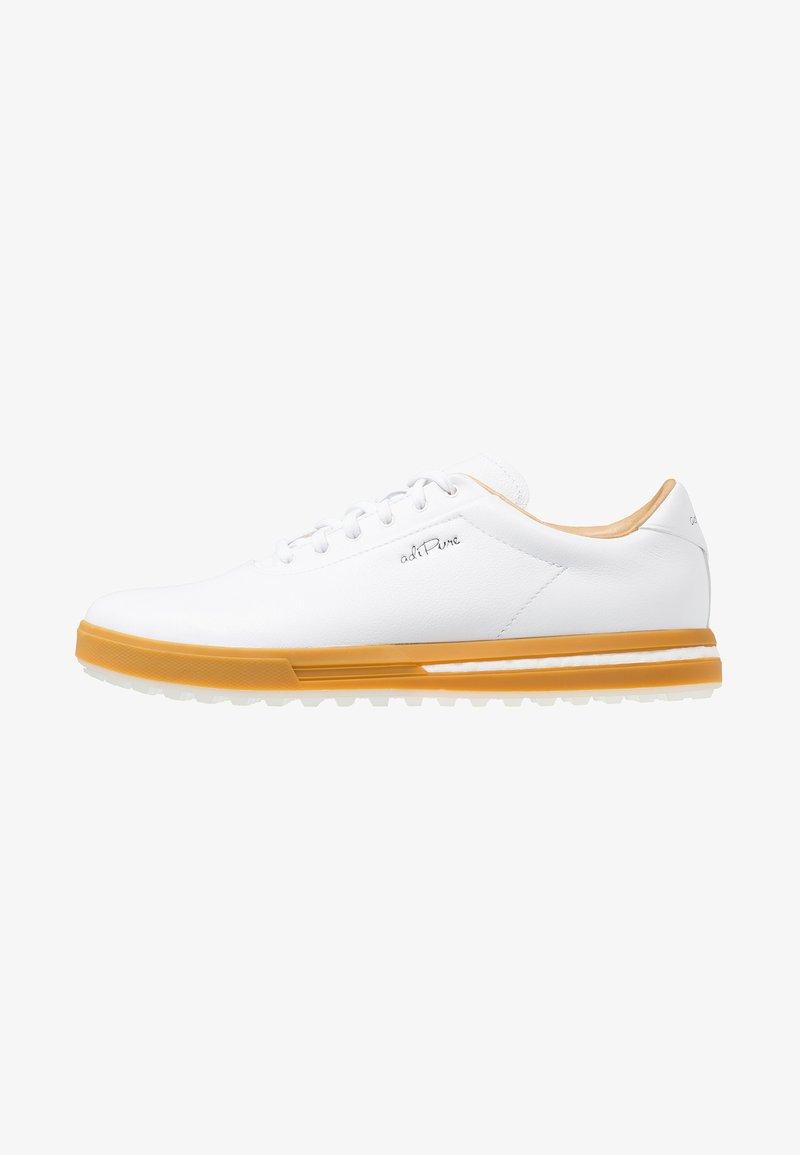 adidas Golf - ADIPURE SP - Golfkengät - footwear white/black blue metallic