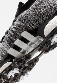 adidas Golf - TOUR360 XT PRIMEKNIT - Golfové boty - core black/footwear white/silver metallic - 5