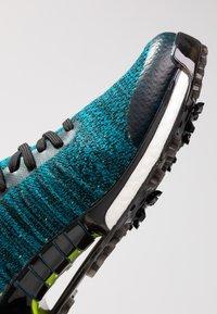 adidas Golf - TOUR360 XT PRIMEKNIT - Golf shoes - core black/activ teal/solar lime - 5
