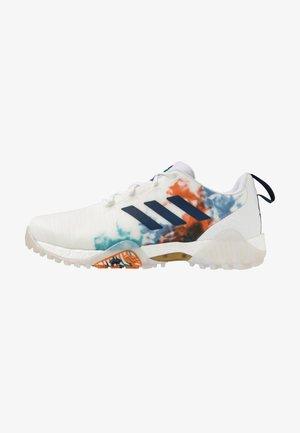 CODECHAOS - Golf shoes - footwear white/gold metallic/tech indigo