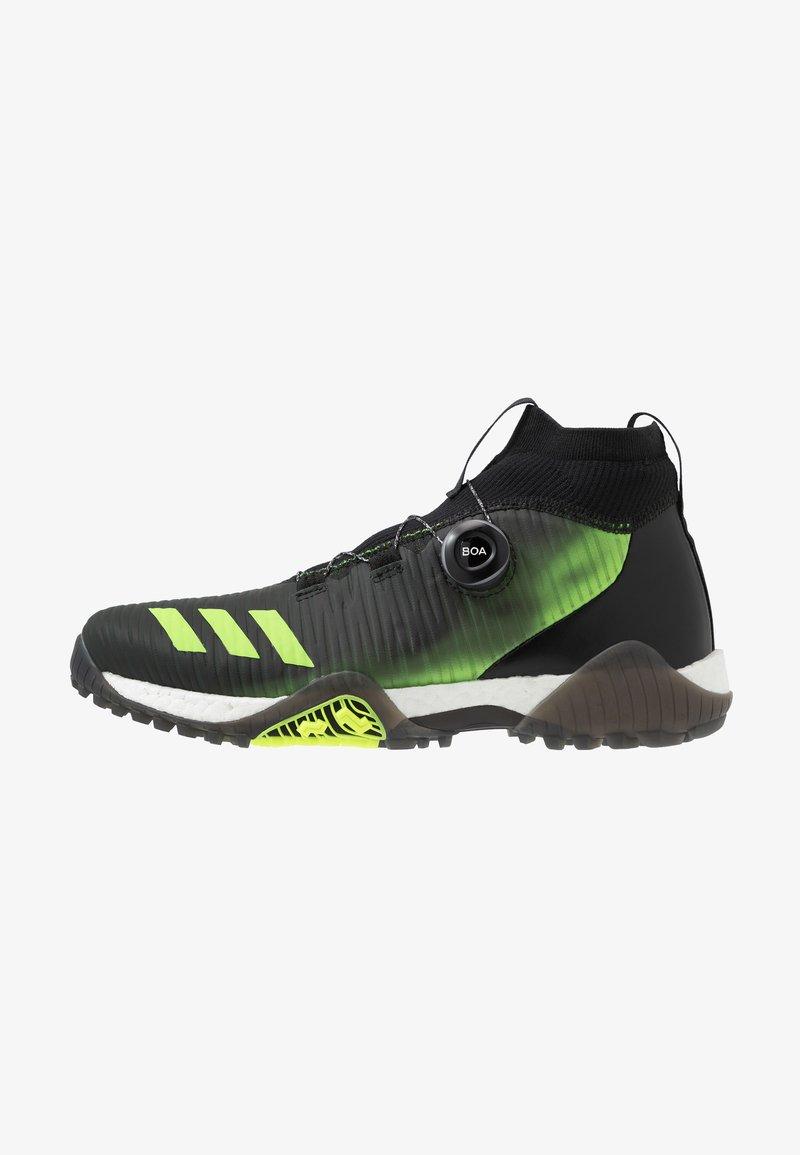 adidas Golf - CODECHAOS - Golfové boty - core black/signal green/footwear white