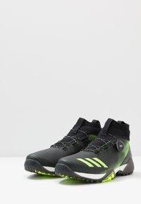 adidas Golf - CODECHAOS - Golfové boty - core black/signal green/footwear white - 2