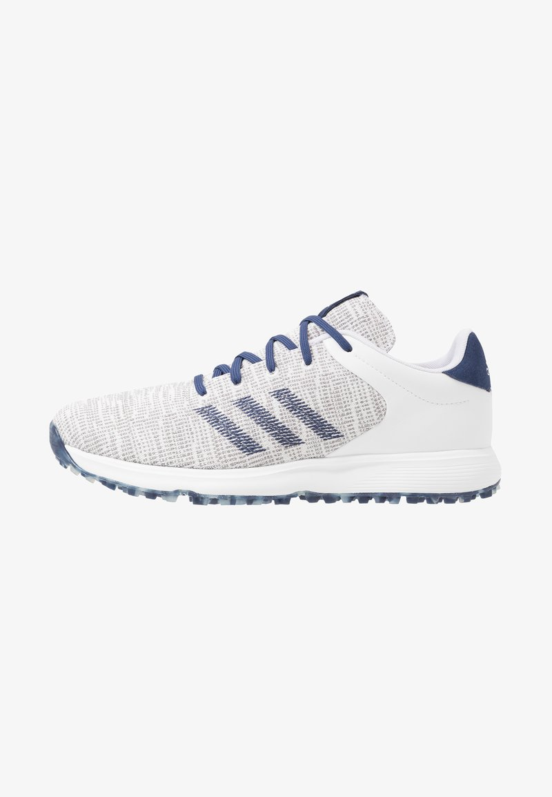 adidas Golf - S2G - Golfové boty - footwear white/tech indigo/grey three
