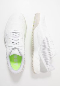 adidas Golf - CODECHAOS SPORT - Golfové boty - footwear white/solid grey/signal green - 1