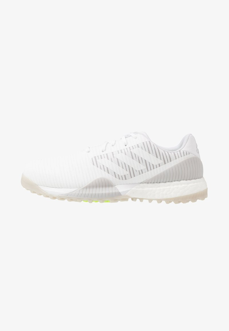 adidas Golf - CODECHAOS SPORT - Golfové boty - footwear white/solid grey/signal green