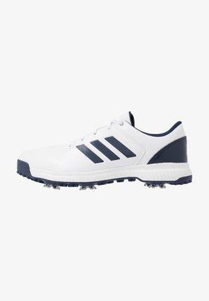 CP TRAXION - Golfsko - footwear white/dark blue/silver metallic