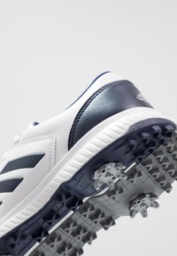 adidas Golf - CP TRAXION - Golfové boty - footwear white/dark blue/silver metallic - 5
