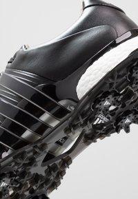 adidas Golf - TOUR360 XT - Golfové boty - core black/silver metallic - 5