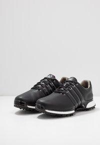adidas Golf - TOUR360 XT - Golfové boty - core black/silver metallic - 2