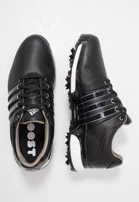 adidas Golf - TOUR360 XT - Golfové boty - core black/silver metallic - 1