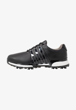 TOUR360 XT - Golf shoes - core black/silver metallic