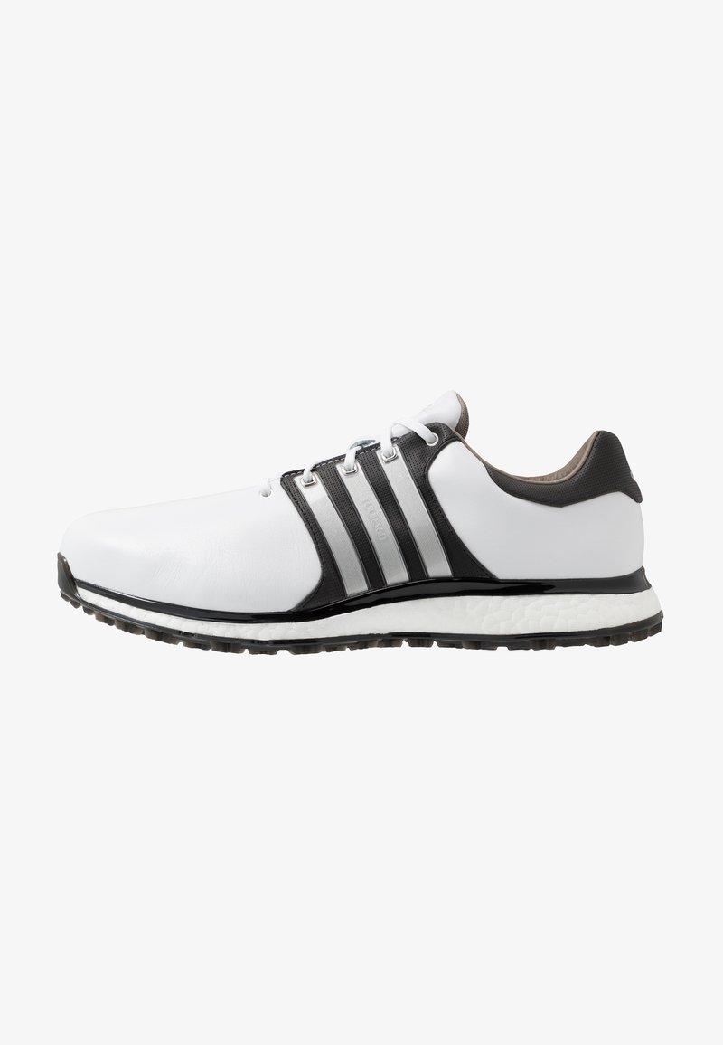 adidas Golf - TOUR360 XT-SL - Obuwie do golfa - footwear white/matte silver/core black