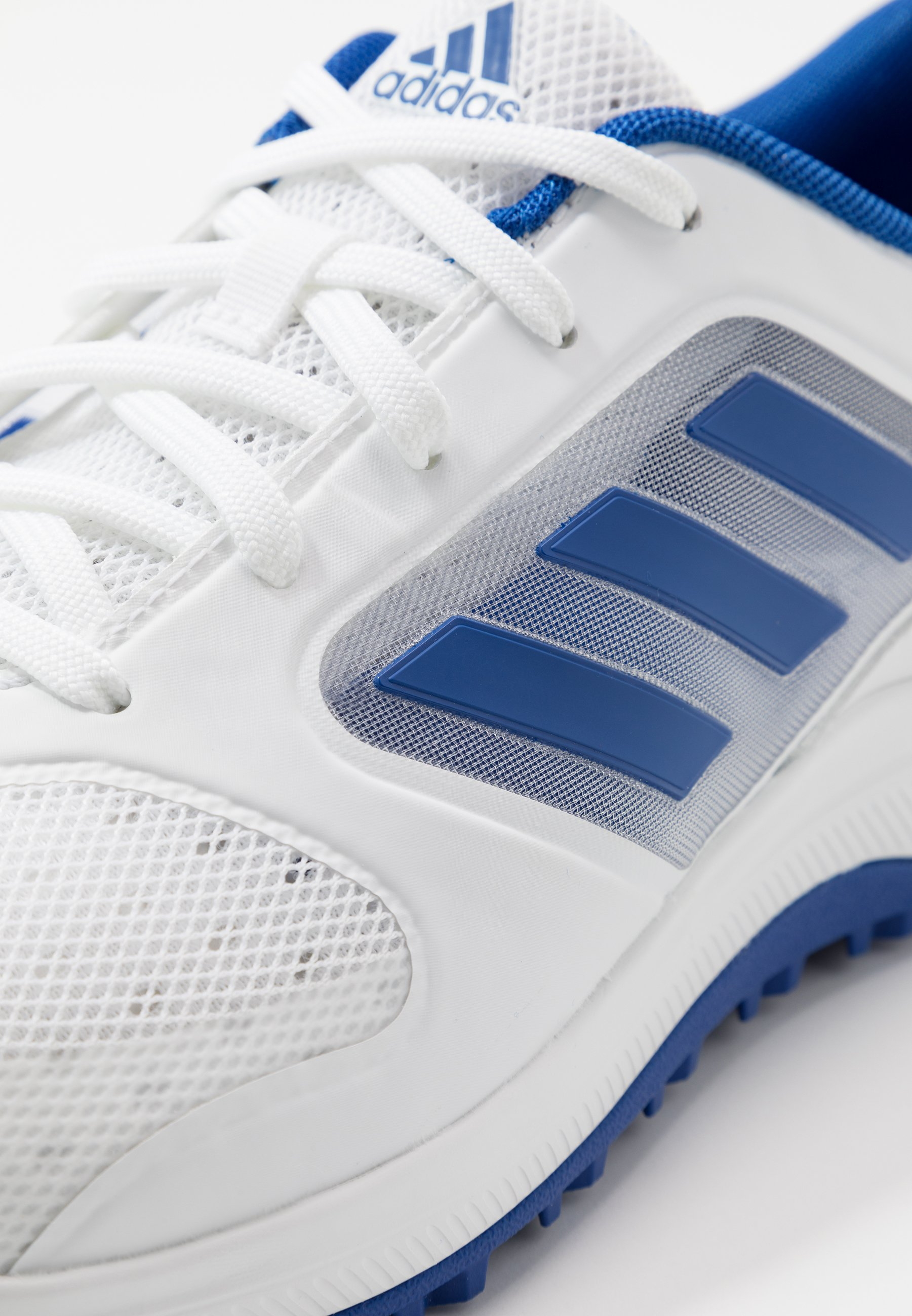 Adidas Golf Cp Traxion Sl - Golfskor Footwear White/team Royal Blue/silver Metallic