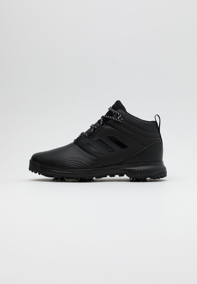 CLOUDFOAM RAIN.RDY TRAXION SPORTS GOLF SHOES - Golfové boty - core black/dark silver metallic
