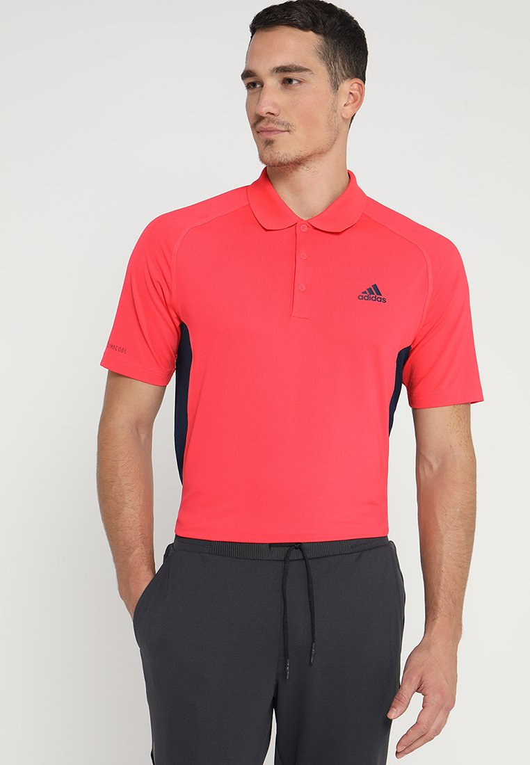 adidas Golf - ULTIMATE365 CLIMACOOL SOLID - Sportshirt - schock red
