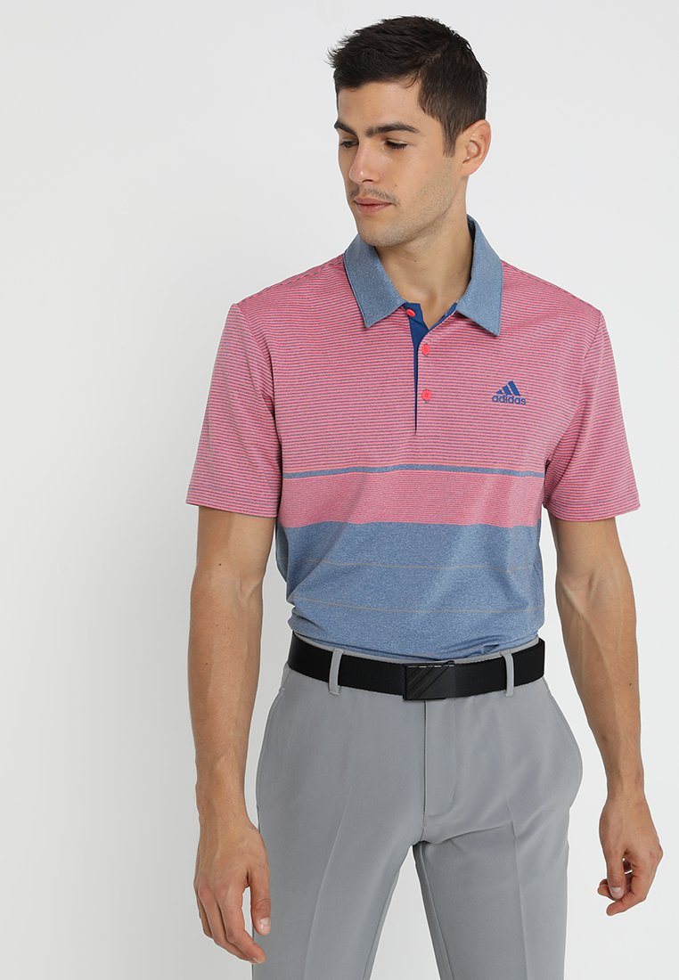 adidas Golf - Sportshirt - magenta dark marine heather