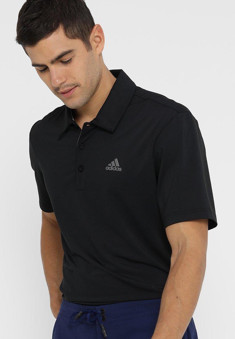 adidas Golf - ULTIMATE365 SOLID - Funktionströja - black/grey four