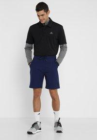 adidas Golf - ULTIMATE365 SOLID - Sports shirt - black/grey four - 1