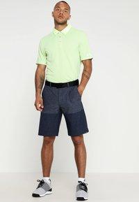 adidas Golf - CLIMACHILL TONAL STRIPE - Funktionstrøjer - hi-res yellow - 1