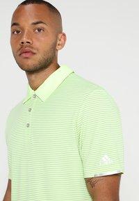 adidas Golf - CLIMACHILL TONAL STRIPE - Funktionstrøjer - hi-res yellow - 4