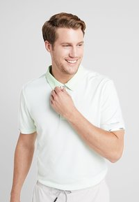 adidas Golf - CLIMACHILL TONAL STRIPE - Camiseta de deporte - glow green/white - 5