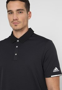 adidas Golf - CLIMACHILL TONAL STRIPE - T-shirt sportiva - black - 6