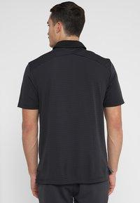 adidas Golf - CLIMACHILL TONAL STRIPE - T-shirt sportiva - black - 2