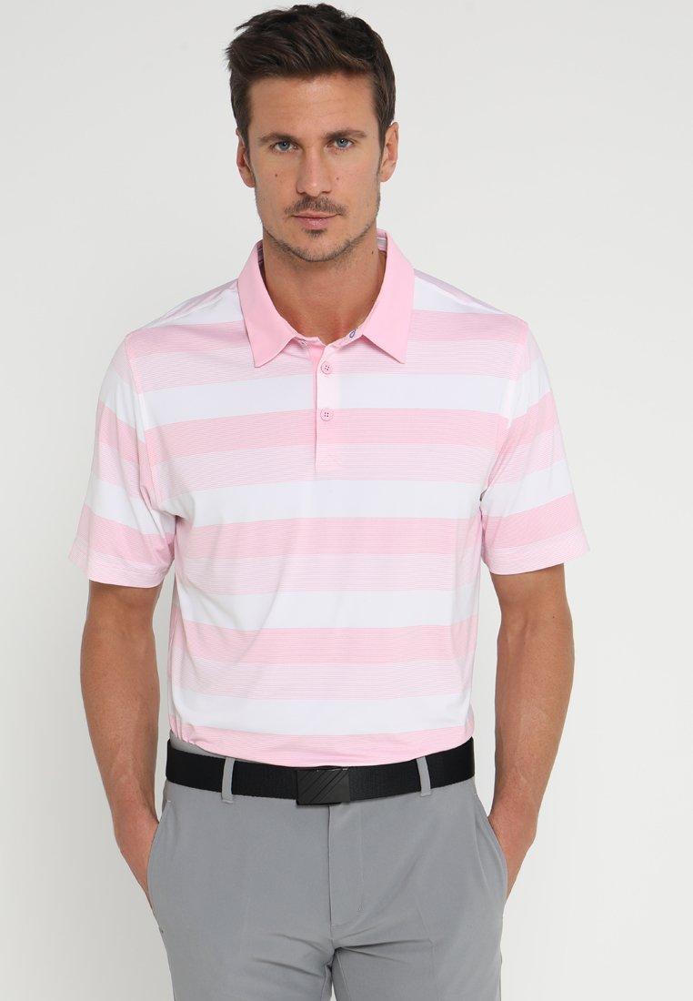 adidas Golf - ADIPURE DYNAMIC STRIPE  - Polo shirt - pink