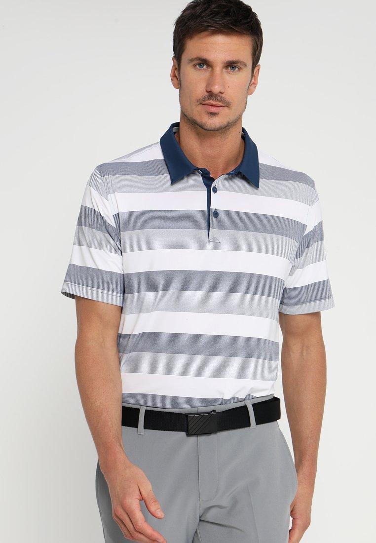 adidas Golf - ADIPURE DYNAMIC STRIPE  - Polo - rich blue