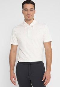 adidas Golf - ADICROSS  - Poloshirts - raw white - 0