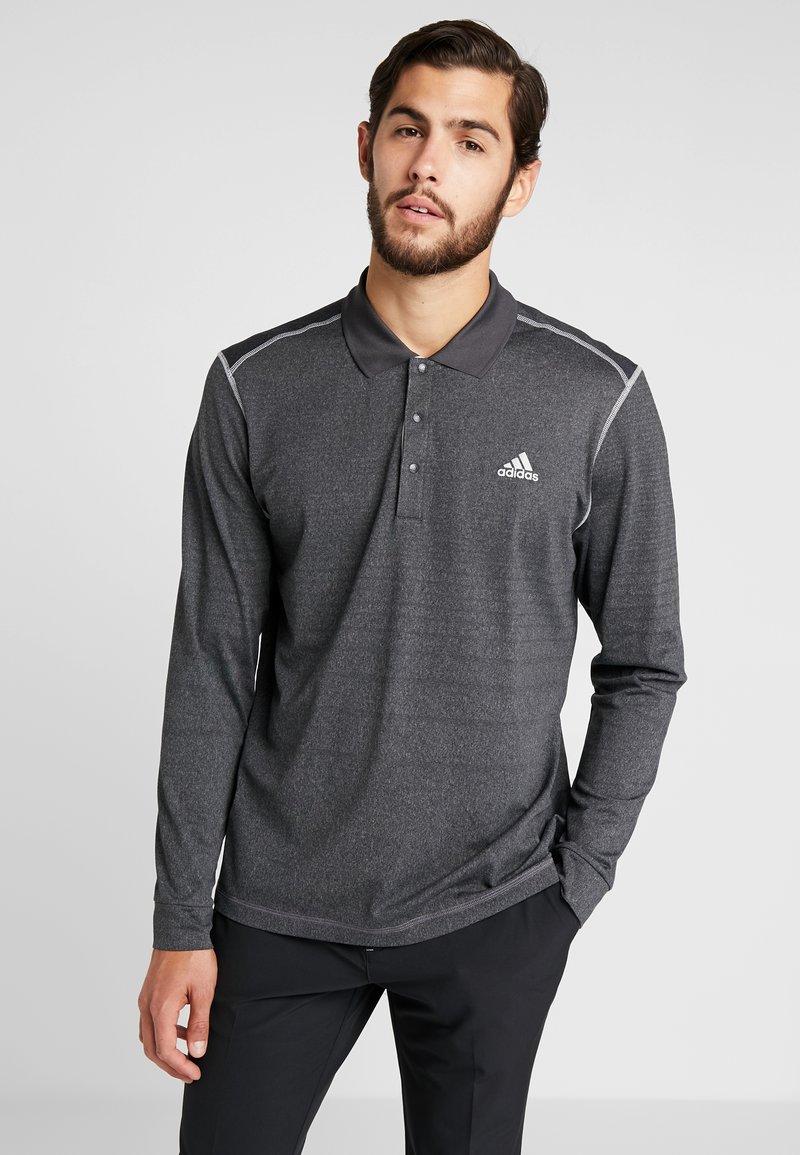 adidas Golf - THERMAL - Poloshirt - black heather